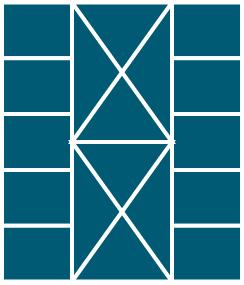 Xキルト型マスイメージ