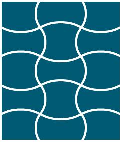 ウェーブキルト型マスイメージ