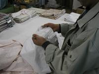 外周縫製の工程